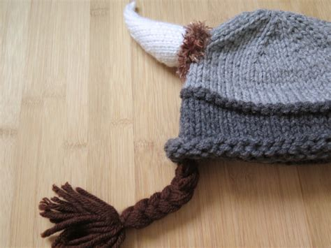 knit viking hat viking hat with braids knitted viking hat knit viking hat
