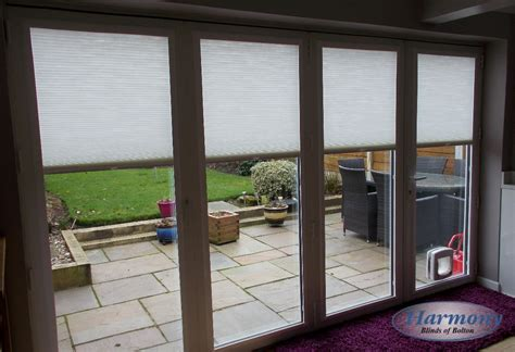 fit roller blinds for patio doors fit pleated blinds on a patio door harmony