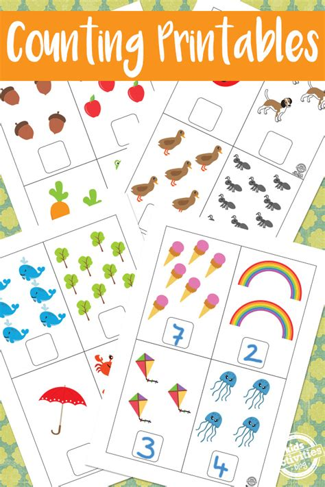 for counting counting printables