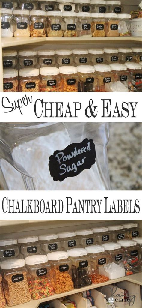 diy chalkboard labels diy labels chalkboard labels for the pantry chalkboard