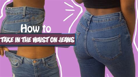 how to make waist how to take in the waist on a pair of fashion fix