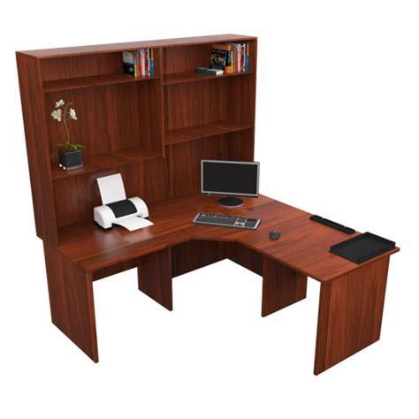 corner office desk with hutch corner office desk with hutch bush bbf a series corner