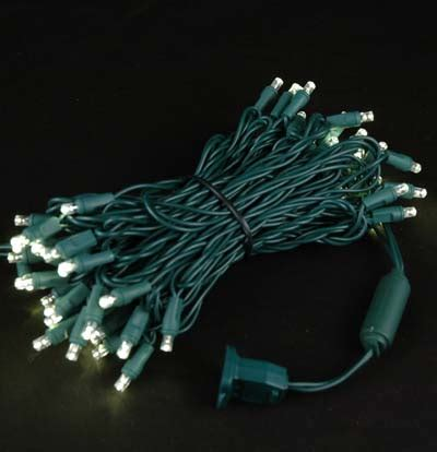twinkle led lights twinkling led lights on green wire with 50 wide