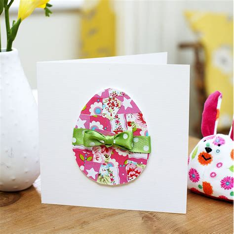 simple easter cards to make a cracking easter craft idea make this easter egg card