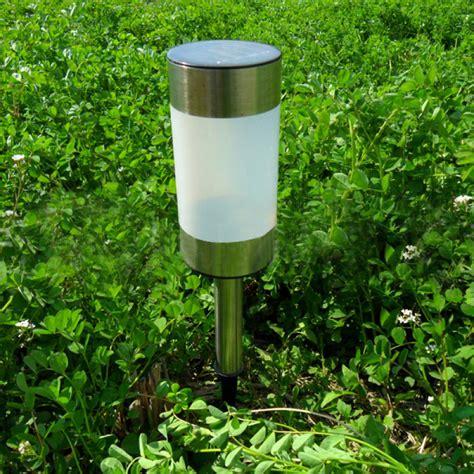 lawn lights solar buy solar power gun barrel led garden light outdoor lawn
