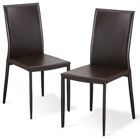 lucy brown dining room chair set modern dining chairs