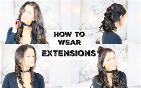 hair pieces to wear with fo hawk hairstyle how to wear extensions for 5 different hairstyles luxy hair