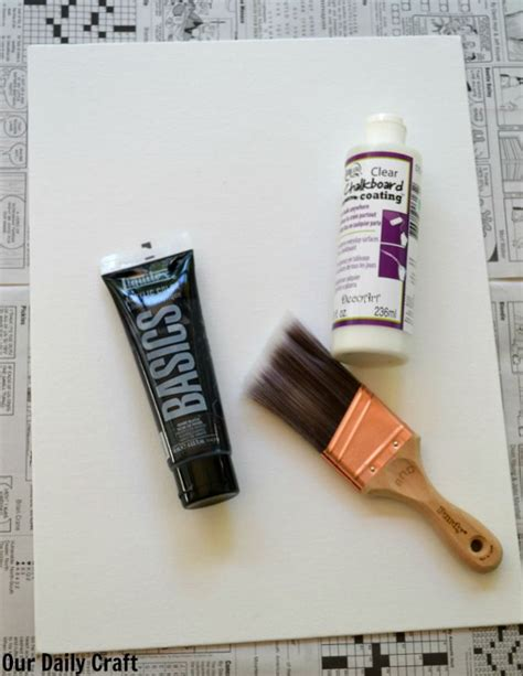 diy chalkboard materials diy chalkboard sign for back to school our daily craft