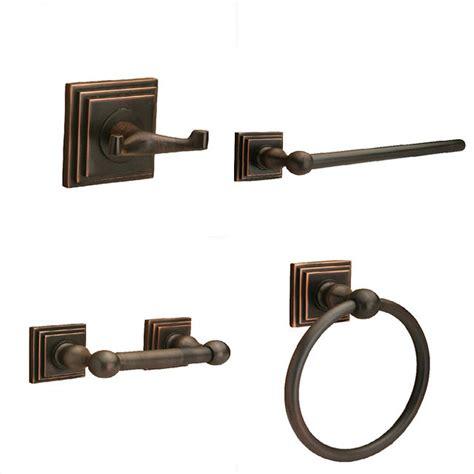 bathroom bronze accessories sure loc rubbed bronze pueblo 4 bathroom