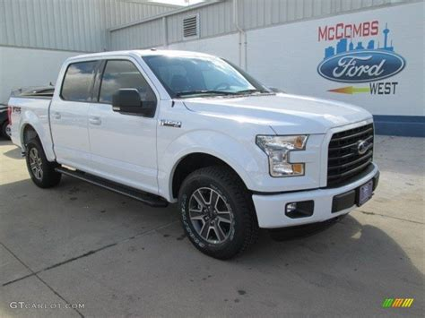 White Ford by 2015 Oxford White Ford F150 Xlt Supercrew 4x4 105051492