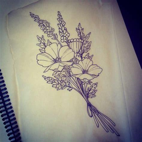 25 best ideas about birth flower tattoos on pinterest