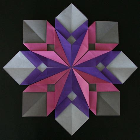 really easy origami for origami petals and flower