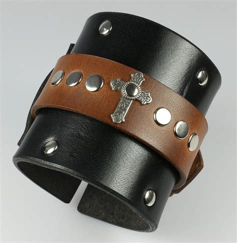 leather wristbands for buckling leather wristbands and bracelets leatherpunk