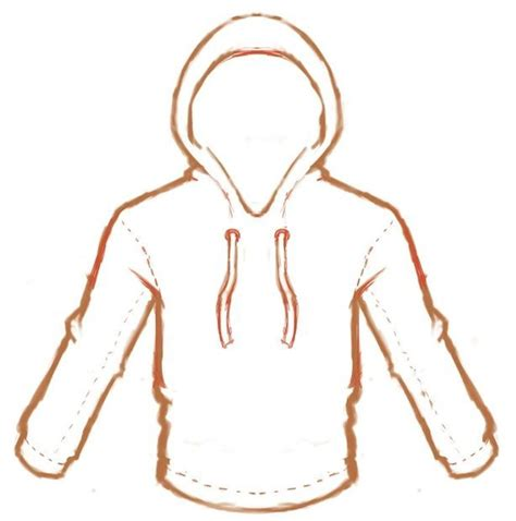 how to draw hoodies 349 best images about drawing clothes on how