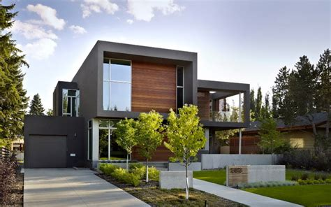 contemporary modern house sd house modern exterior edmonton by thirdstone