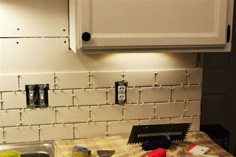 installing a backsplash in kitchen budget friendly kitchen makeovers ideas and