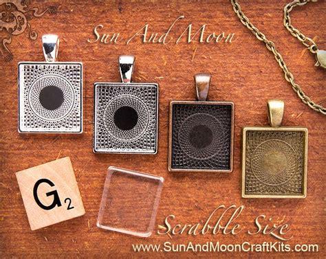scrabble tile size scrabble tile size pendant tray setting charm silver