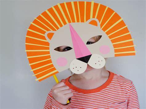 mask craft for 9 diy masks to make with your inhabitots