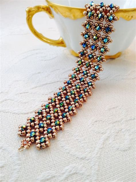 bead cuffs 17 best ideas about beaded cuff bracelet on