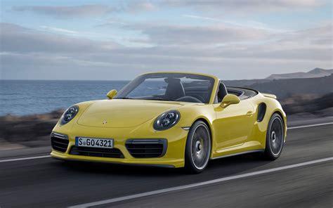 Porsche 911 Turbo S by 2016 Porsche 911 Turbo S Cabriolet Wallpapers Hd
