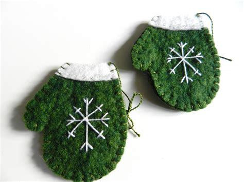 wool felt ornaments handmade wool felt ornament snowflake on by