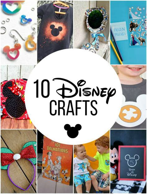 easy disney crafts for make disney sticker story starters on your travel to