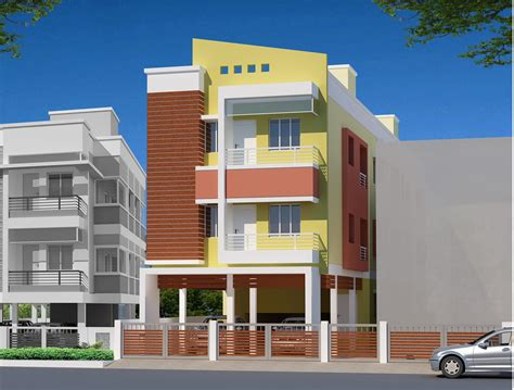 Latest 3d Home Design Software Free Download residential multi storey building elevation design with