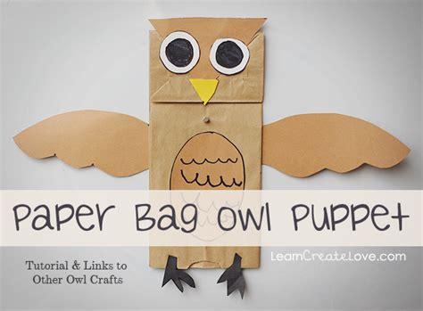 paper bag owl craft pin paper bag owl craft dltks printable crafts for