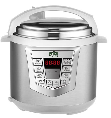 recetas erika plus robot de cocina olla programable erika plus sartenes ceramicas