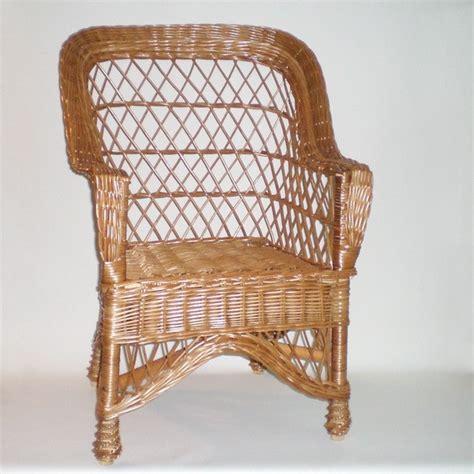 sillas y sillones de mimbre comprar sill 243 n de mimbre modelo abuela buff en