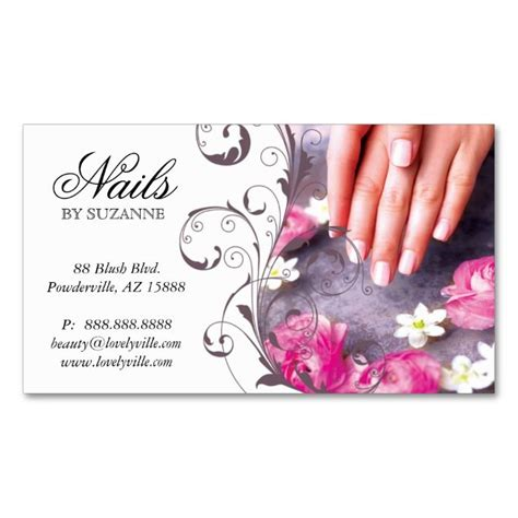 1938 best nail technician business cards images on