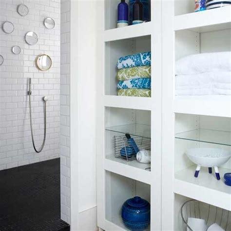 bathroom built in shelves built in bathroom storage shelves diy doin it