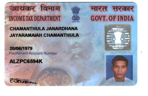 where to make pan card pan card janardhana on rediff pages