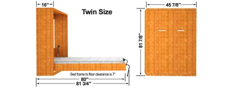 bed box dimensions diy murphy bed finished cabinet dims easy diy murphy bed