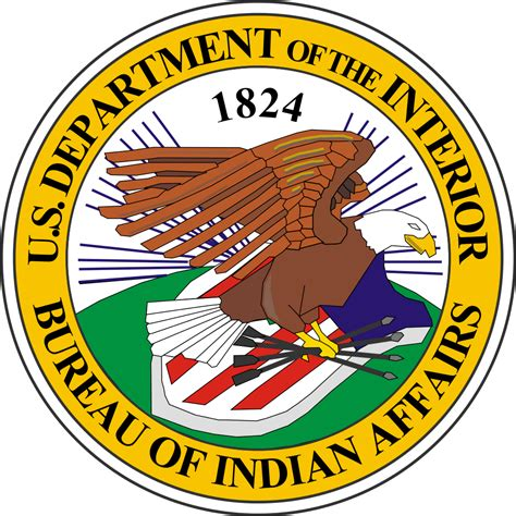 file seal of the united states bureau of indian affairs svg wikimedia commons