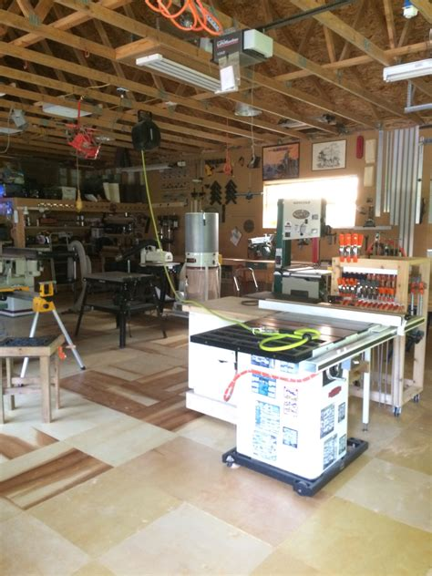 woodworking shop tour dean s standalone woodshop the wood whisperer