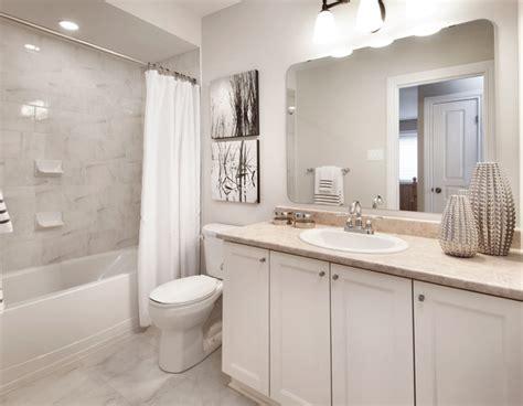 Model Homes Transitional Bathroom Ottawa By Tartan