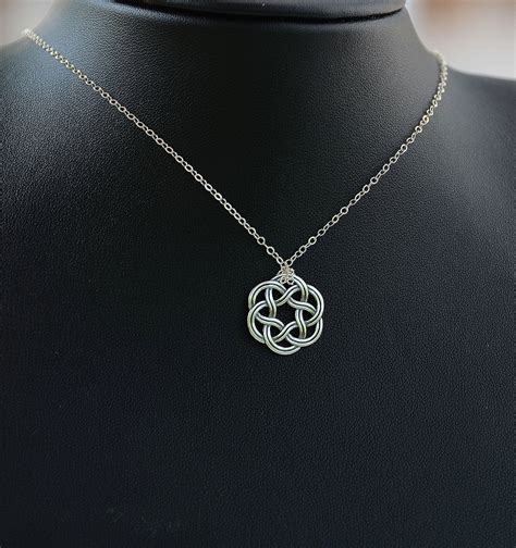 how to make celtic jewelry all sterling silver celtic necklace celtic jewelry celtic