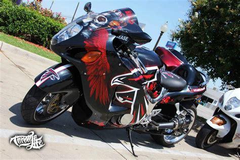 Suzuki Motorcycles Atlanta by Atlanta Falcons Hayabusa Motorcycles