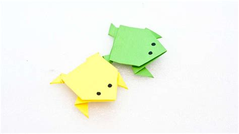 easy frog origami origami origami frog traditional model origami frog