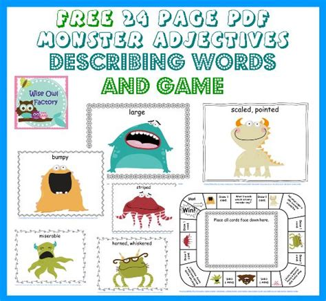 where the things are picture book pdf 1000 images about slp adjective freebies on