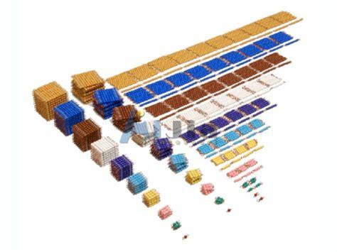 bead material montessori complete bead material w cabinet buy