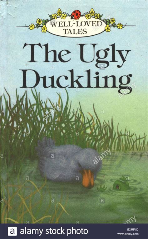 the duckling picture book 1980s uk the duckling book cover stock photo royalty