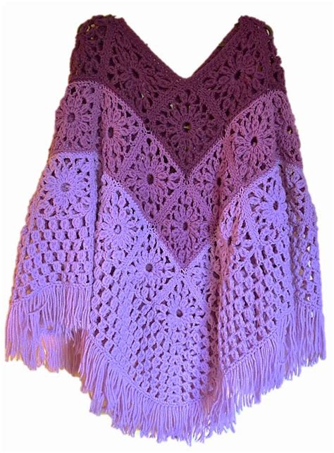10 Free Crochet Poncho Patterns The Lavender Chair