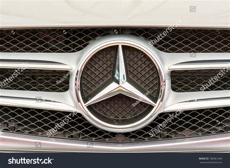 When Was Mercedes Founded by Bucharest Romania April 04 2014 Mercedes Sign