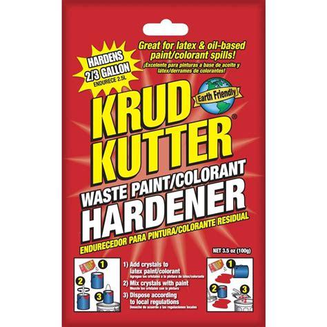 home depot paint waste krud kutter 3 5 oz waste paint hardener ph3512 the home