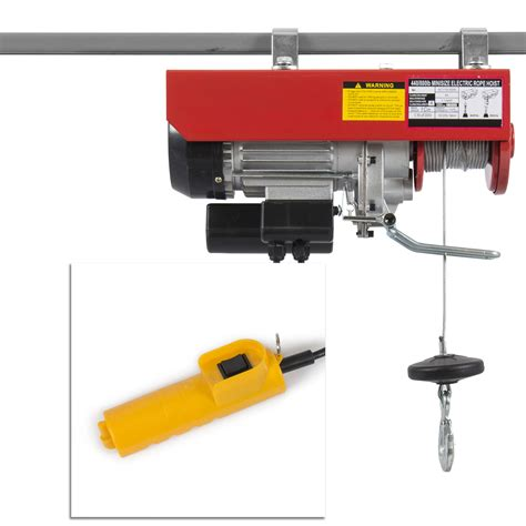 Electric Hoist Motor by Electric Overhead Motor Lift Hoist Garage Engine Cable