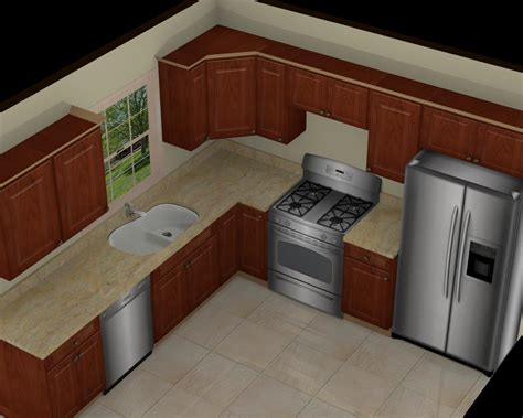 10x10 kitchen designs foundation dezin decor 3d kitchen model design