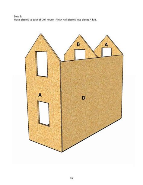 18 inch doll house plans free 18 inch doll house plans free white three story american