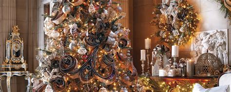 frontgate decorated trees how to update your tree home style